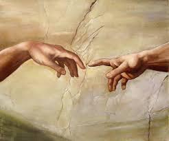 creation_hands of God & Adam
